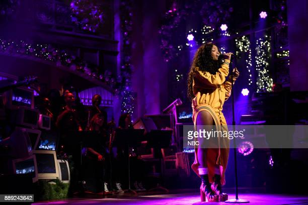 Musical Guest SZA performs Love Galore in Studio 8H on Saturday December 9 2017