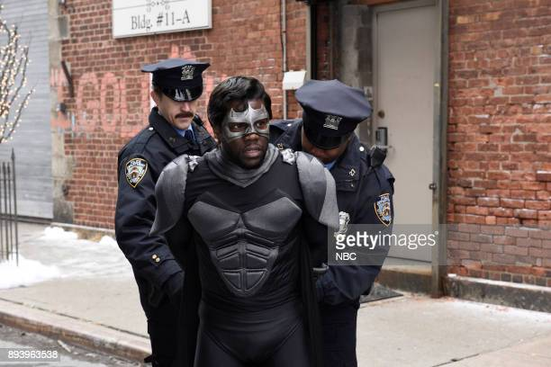 Kevin Hart as Captain Shadow during 'Captain Shadow' on Saturday December 16 2017