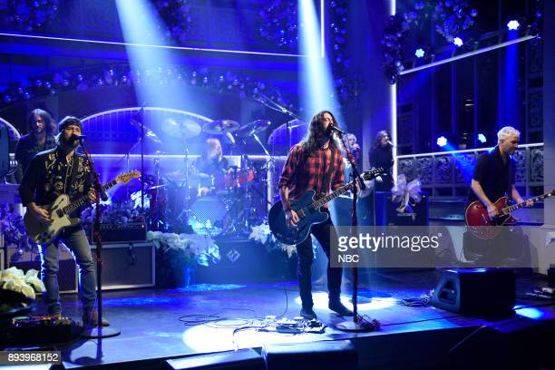 Musical Guest Foo Fighters perform 'The Sky is a Neighborhood' in Studio 8H on Saturday December 16 2017