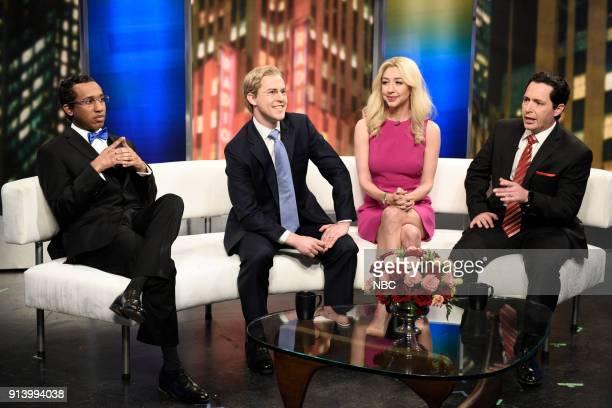 LIVE Episode 1738 'Natalie Portman' Pictured Chris Redd as Mr Louis Farrakhan Alex Moffat as Steve Doocy Heidi Gardner as Ainsley Earhardt Beck...