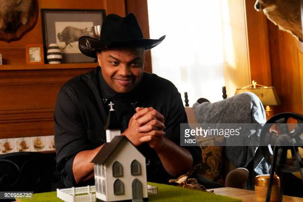 LIVE Episode 1739 'Charles Barkley' Pictured Charles Barkley as Ned during 'Ned's Roach Away Commercial' on Saturday March 3 2018