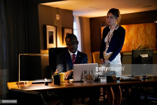 LIVE Episode 1740 Sterling K Brown Pictured Sterling K Brown as Ben Carson Heidi Gardner during This Is US on Saturday March 10 2018