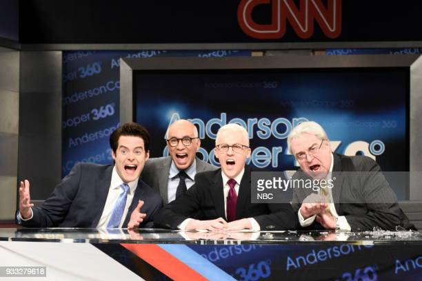 LIVE Episode 1741 Bill Hader Pictured Bill Hader as Anthony Scaramucci Fred Armison as Michael Wolff Alex Moffat as Anderson Cooper John Goodman as...