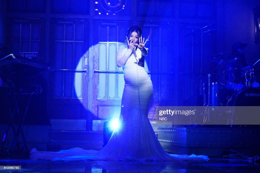 "NBC's ""Saturday Night Live"" - Chadwick Boseman, Cardi B"