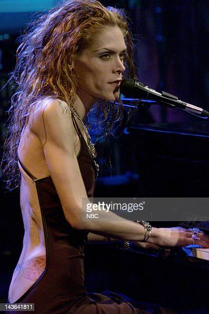 Musical guest Beth Hart performs on December 27 1999 Photo by NBC/NBCU Photo Bank via Getty Images
