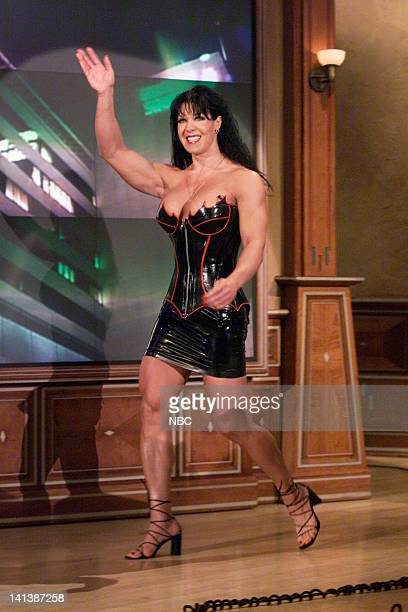 Professional wrestler Chyna enters on February 11 2000