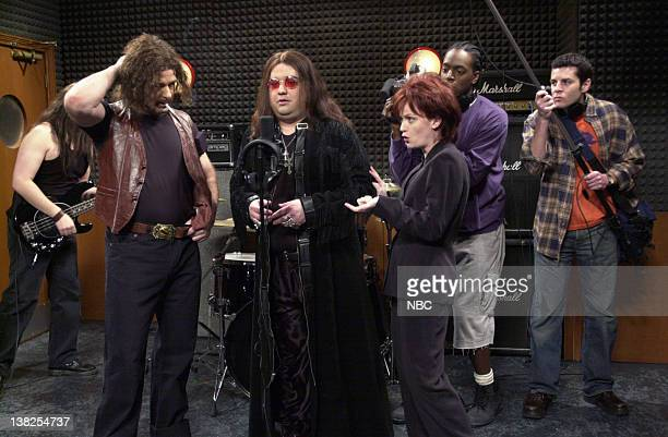 LIVE Episode 18 Air Date Pictured Alec Baldwin as roadie Horatio Sanz as Ozzy Osbourne Amy Poehler as Sharon Osbourne Dean Edwards as cameraman...