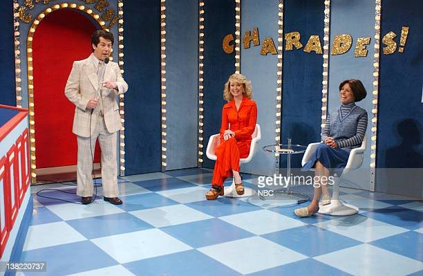 LIVE Episode 18 Aired Pictured Chris Parnell as Bert Convy as Bert Convy Amy Poehler as Beth Burns Julia LouisDreyfus as Debbie Wagner during...