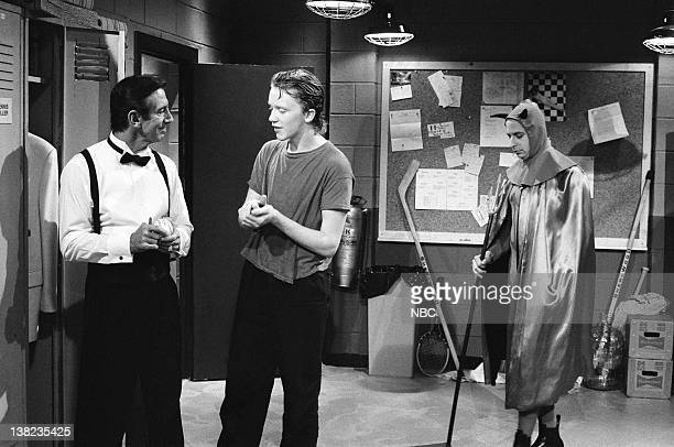 Billy Martin Anthony Michael Hall Jon Lovitz as Mephistopheles during the Monologue on May 24 1986