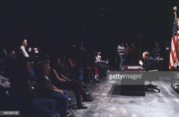 Dana Carvey as George Bush during Bush the Environment skit on April 21 1990 Photo by Alan Singer/NBCU Photo Bank