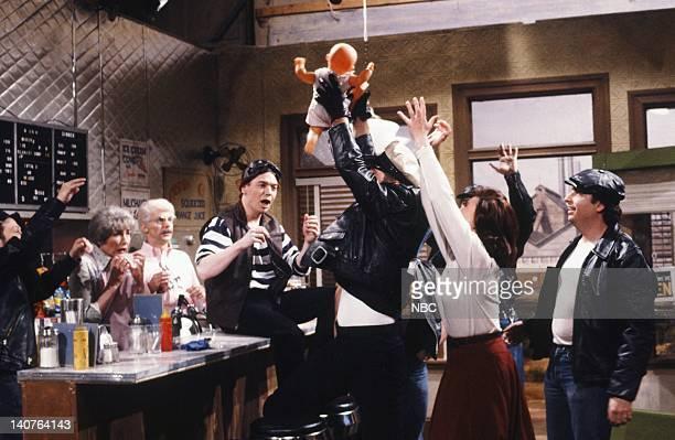 Nora Dunn as Pops' Wife Dana Carvey as Pops Mike Myers as Landfill Jan Hooks as Mother Alec Baldwin as Marlon Brando as Johnny John Lovitz as...