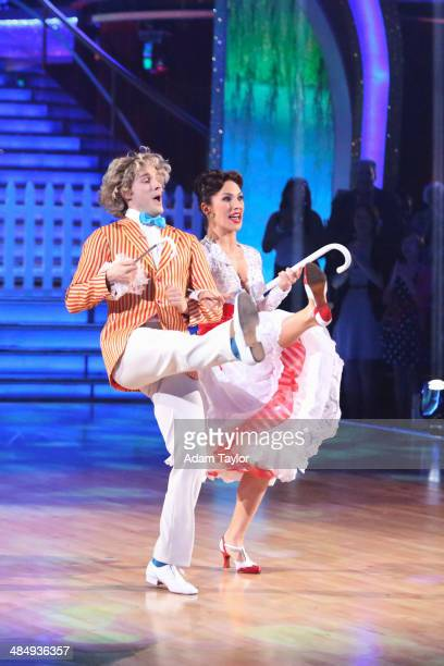 "Episode 1805"" - ""Dancing with the Stars"" got into the Disney spirit with all new celebrity performances MONDAY, APRIL 14 on the Walt Disney..."