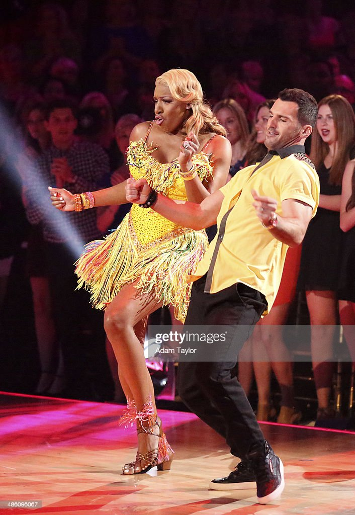 STARS - 'Episode 1806' - It's an all out celebration on 'Dancing with the Stars' as the celebrities got the party started MONDAY, APRIL 21 (8:00-10:01 p.m., ET) on the ABC Television Network. The show kicked off with a spectacular opening performance followed by each couple dancing to some of the greatest party anthems of all time. Additionally, LMFAO frontman Redfoo was the guest judge alongside Len Goodman, Bruno Tonioli and Carrie Ann Inaba. NENE