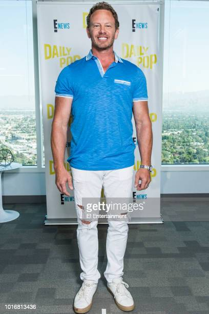 Actor Ian Ziering poses for a photo