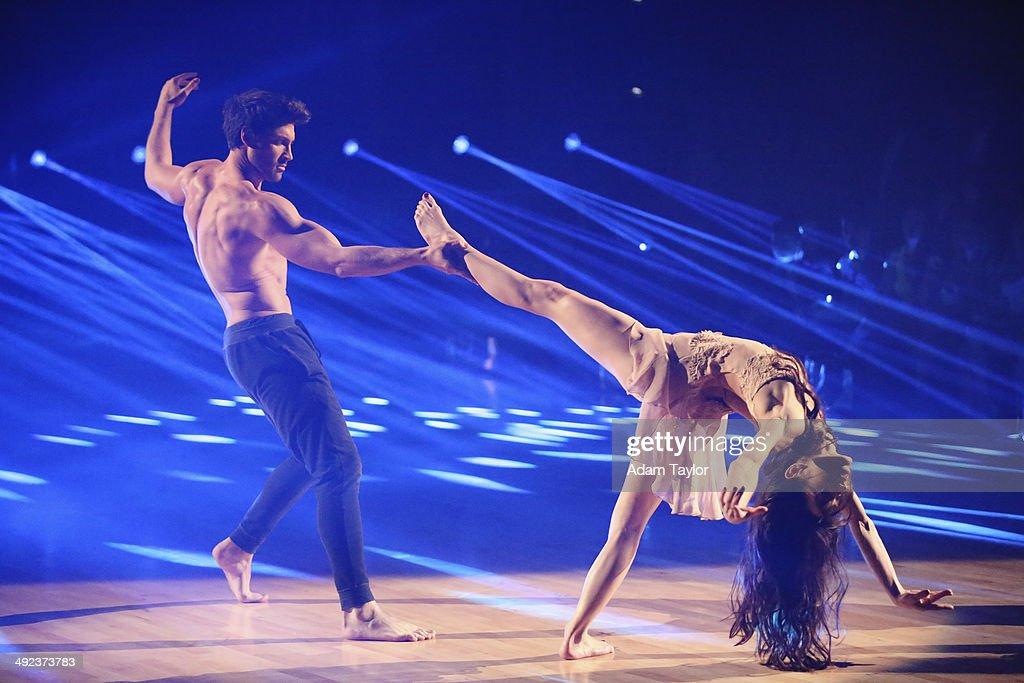 "ABC's ""Dancing With the Stars"" - Season 18 - Week Ten : News Photo"