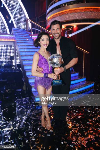 """Episode 1810A"""" - At the end of the night, Meryl Davis and Maksim Chmerkovskiy were crowned the Season 18 Champions, on the Season Finale, TUESDAY,..."""