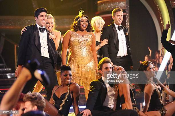 """Episode 1810A"""" - Last season's Mirrorball Trophy winner, Amber Riley, returned as a part of Walgreens' """"Dance Happy Be Healthy"""" performance of """"Do..."""