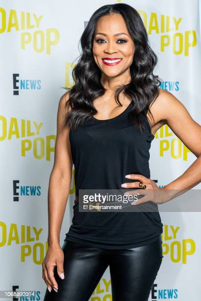 Riverdale's Robin Givens poses for a photo on set