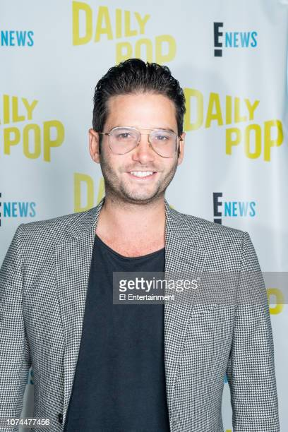 """Episode 181219 -- Pictured: Josh Flagg of """"Million Dollar Listing Los Angeles"""" poses for a photo on set --"""