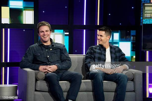 Stephen Amell Robbie Amell