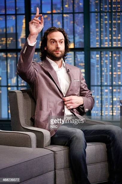 Comedian Chris D'Elia during an interview on March 31 2015
