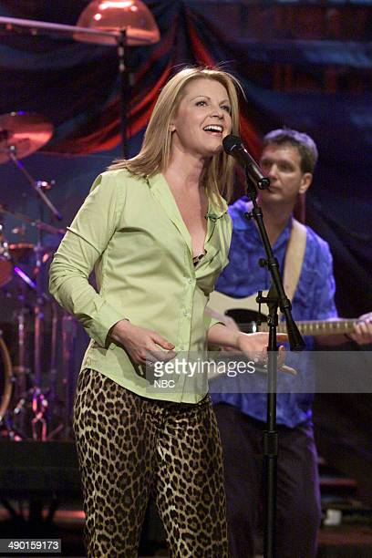 Musical guest Patty Loveless performs on June 28 2000