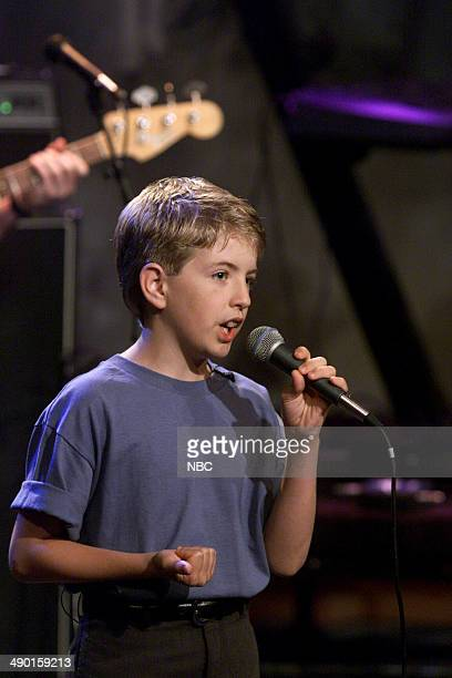 Episode 1868 -- Pictured: Musical guest Billy Gilman performs on July, 11 2000 --