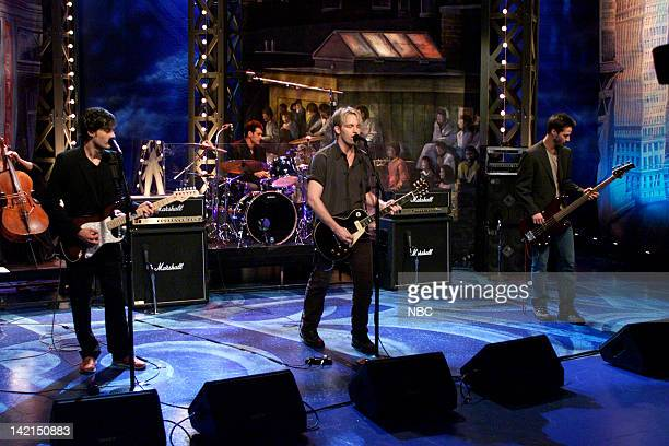 Episode 1870 -- Pictured: Musical guest Dogstar performs on July 10, 2000 --