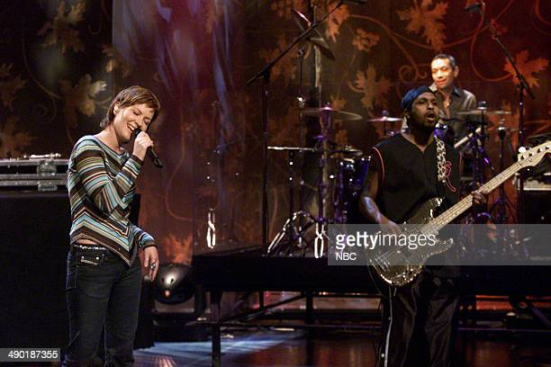 Musical guest Dido performs on July 21 2000