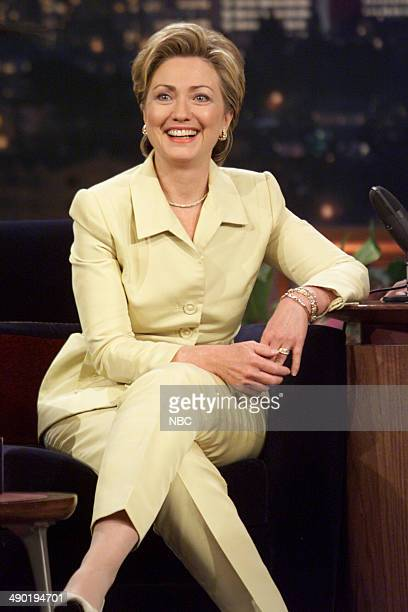 Episode 1891 -- Pictured: Former First Lady Hillary Clinton on August 11, 2000 --