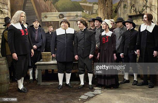 LIVE Episode 19 Aired Pictured Will Ferrell as Steve Horatio Sanz as Jedediah Chris Parnell as reverend Lara Flynn Boyle as sinner Jimmy Fallon as...