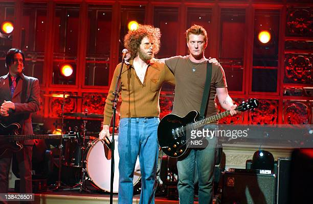 LIVE Episode 19 Aired Pictured Will Ferrell as as Gene Frenkle with musical guest Josh Homme of Queens of the Stone Age onstage