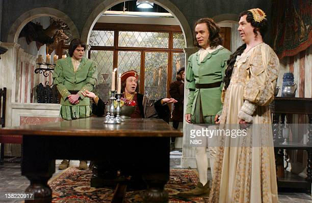 LIVE Episode 19 Aired Pictured Bill Hader as thomas Kevin Spacey as Phillip Sarc Fred Armisen as servant Chris parnell as Baroness von Wilken during...
