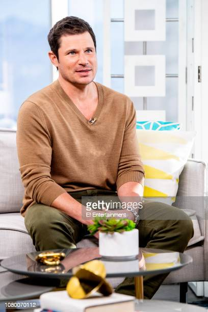 Nick Lachey talks about some of his favorite family apps during an interview on set