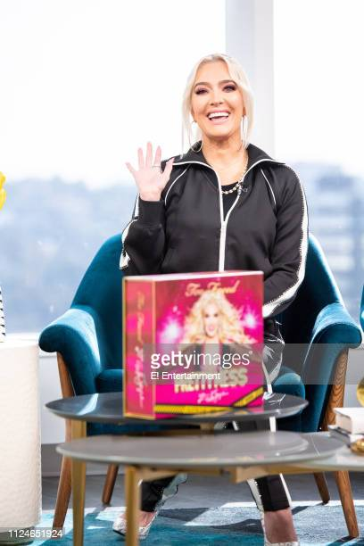 Erika Jayne of The Real Housewives of Beverly Hills stops by the studio