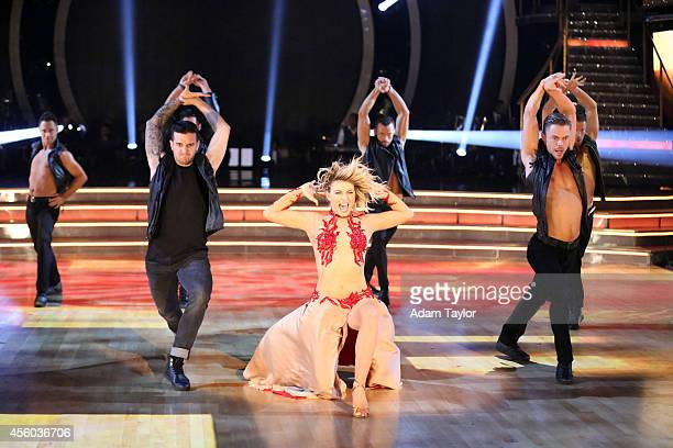 """Episode 1902A"""" -- """"Dancing with the Stars: The Results"""" two-night event continued on TUESDAY, SEPTEMBER 23 where judge Julianne Hough took to the..."""