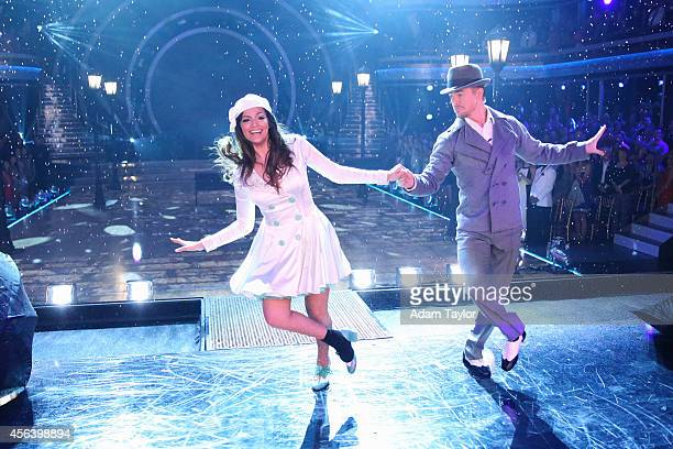STARS 'Episode 1903' Eleven remaining couples competed during 'Movie Night' as they danced to songs from their favorite movies on 'Dancing with the...