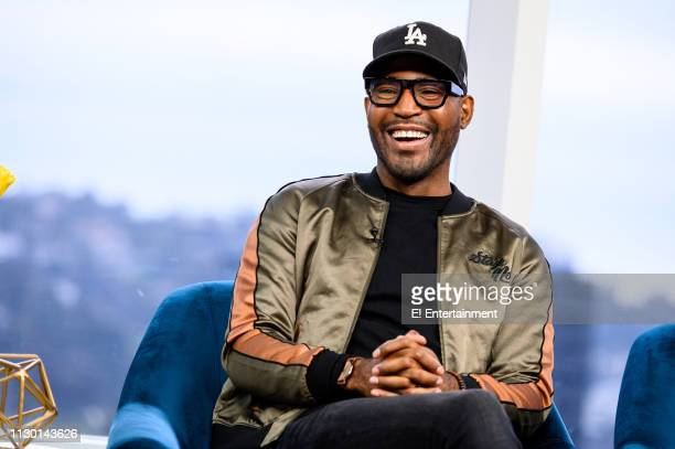 """Episode 190311 -- Pictured: Karamo Brown of """"Queer Eye"""" stops by the studio to talk about his new book --"""