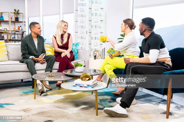 Musical Artists Evan Ross and Ashlee Simpson talk to Daily Pop CoHosts Carissa Culiner and Justin Sylvester about their new single 'Phases'