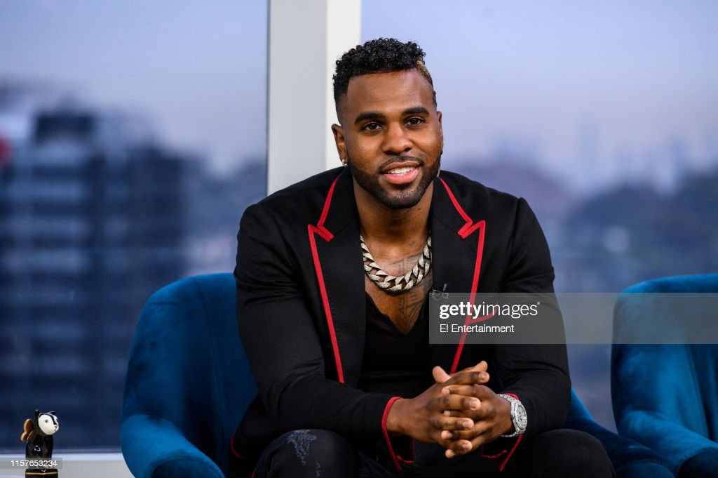 Artist Jason Derulo stops by the set to talk up his upcoming film