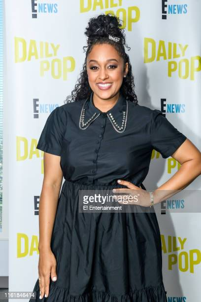Episode 190815 -- Pictured: Tia Mowry of ?Family Reunion? stops by the studio --