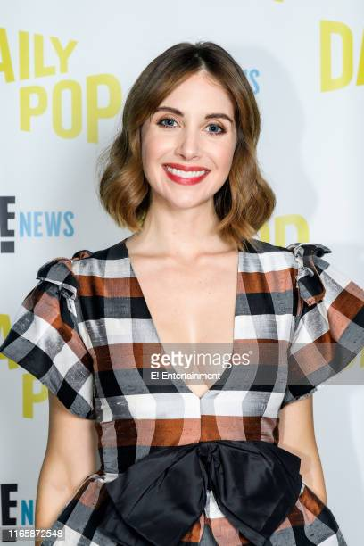 Actress Alison Brie of GLOW stops by the studio