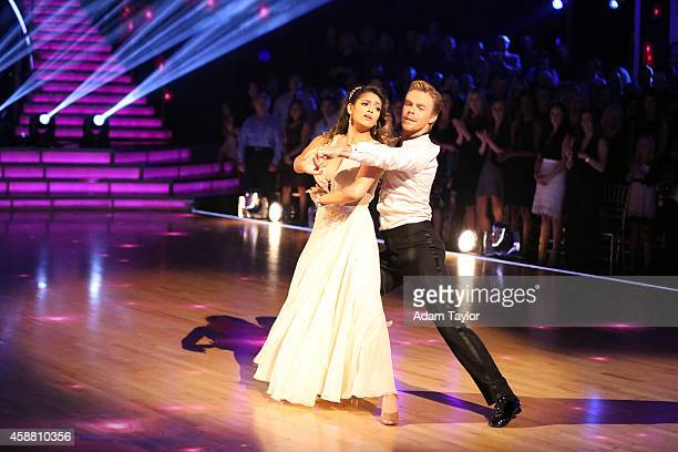 STARS 'Episode 1909' The six remaining couples on 'Dancing with the Stars' danced to a song and dance style voted on by viewers for 'AMERICA'S...