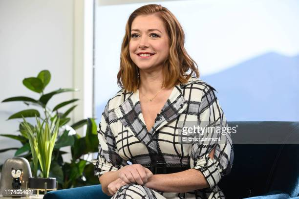 Alyson Hannigan promoting her movie Abducted The Mary Stauffer Story on Daily Pop
