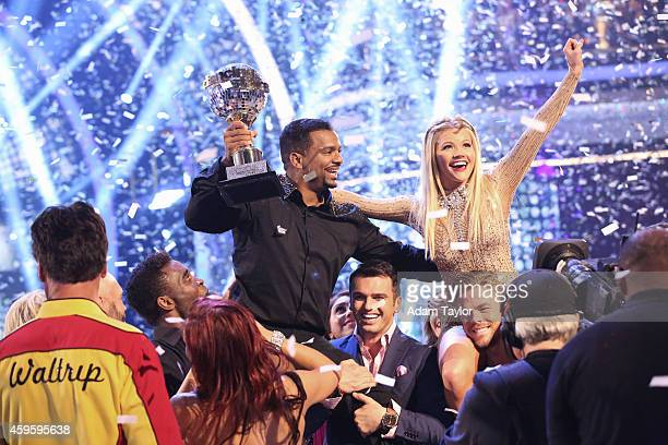 STARS 'Episode 1911A' At the end of the night Alfonso Ribeiro and Witney Carson were crowned the Season 19 Champions on the Season Finale of 'Dancing...