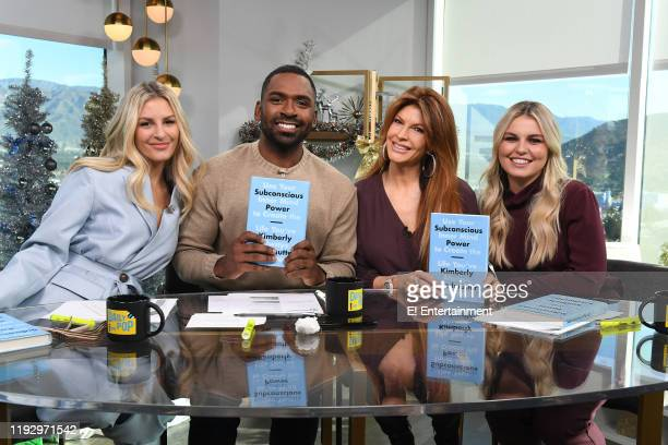 Daily Pop CoHost Morgan Stewart is joined by CoHost Justin Sylvester Kimberly Friedmutter and Guest CoHost Tanya Rad on set