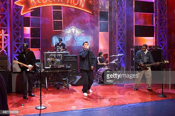 Musical guest Everlast performs on October 19 2000