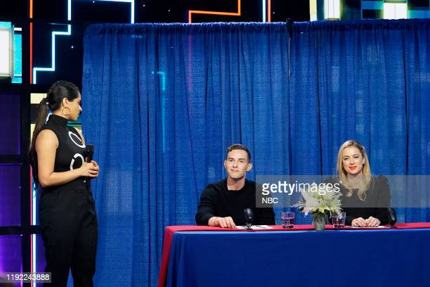Episode 195 -- Pictured: Lilly Singh, Adam Rippon, Iliza Shlesinger --