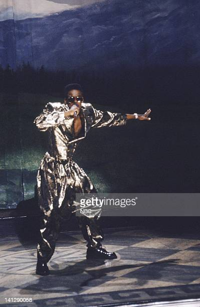 Chris Rock as MC Hammer during 'The Sound of Music' skit on October 6 1990 Photo by Al Levine/NBC/NBCU Photo Bank