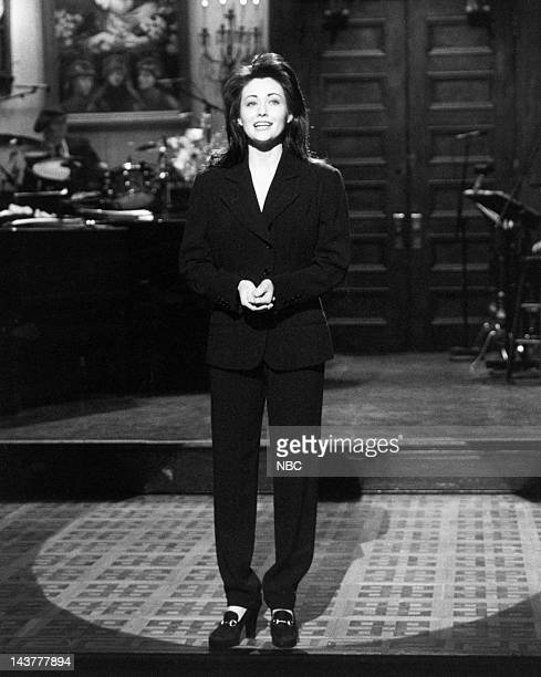 Shannen Doherty onstage during the monologue on October 2 1993